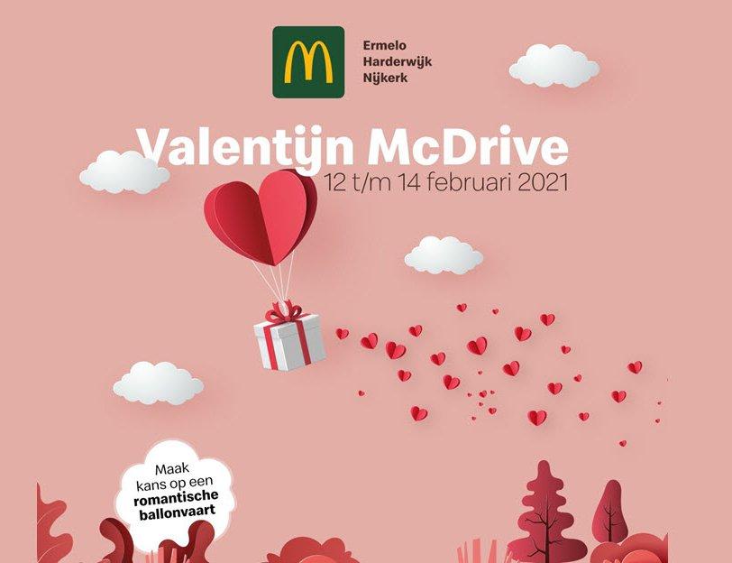 Valentijn McDrive - Met wie kom jij genieten?