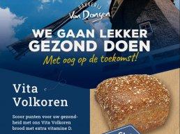 Vita Volkoren brood met extra vitamine D