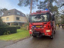 Brand in woning aan de Huygenslaan in Ermelo