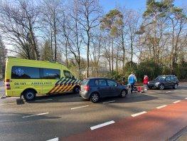Fietsster aangereden op de Horsterweg in Ermelo