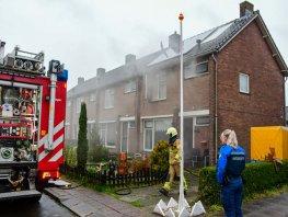 Brand in een woning op de Hoge Eng in Ermelo