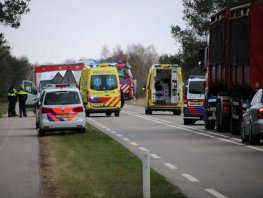 Ongeval op de Flevoweg (N302) in Ermelo