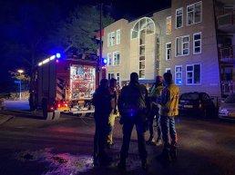 Brand in appartementencomplex Wielewaal in Ermelo