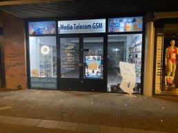 Getuigen oproep: Poging inbraak bij Media Telecom GSM in Ermelo