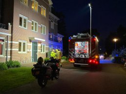Woningbrand in wooncomplex op Veldwijk in Ermelo