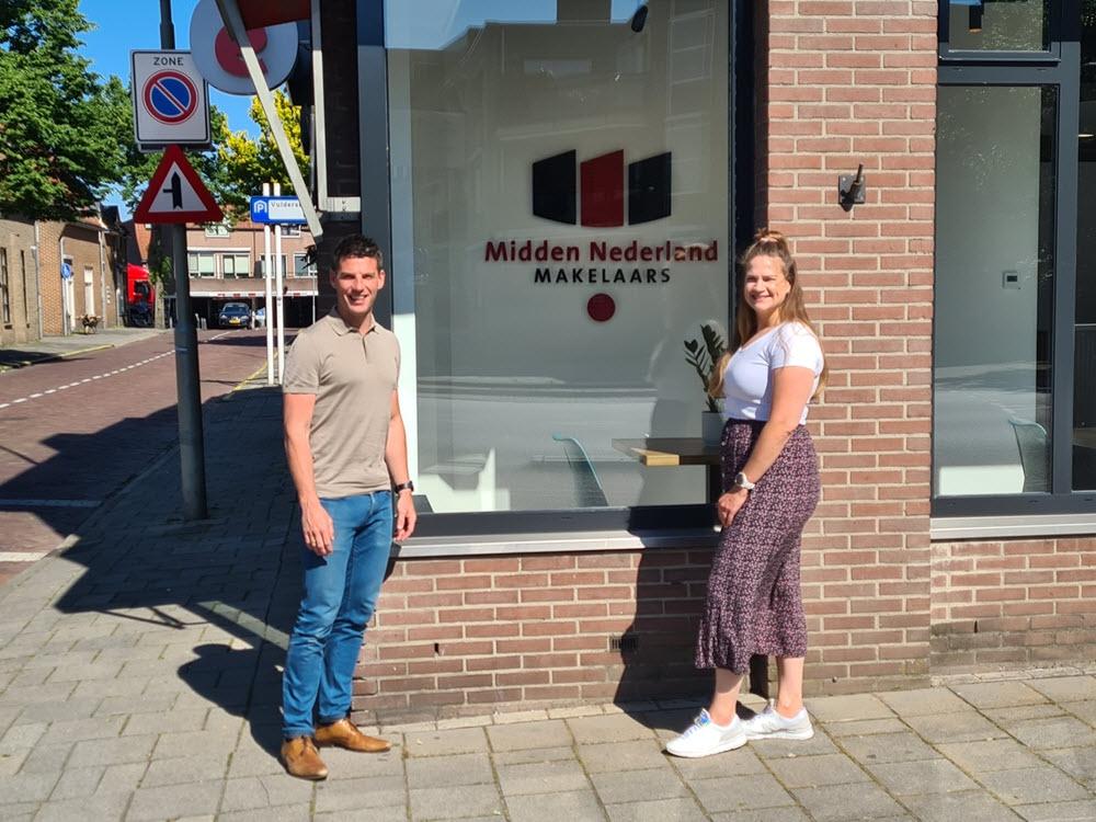 Midden Nederland Makelaars viert verhuizing met leuke actie