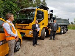 Primeur voor Ermelo: transport werkzaamheden Speuld volledig elektrisch