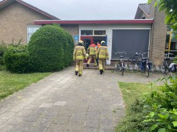 Brandlucht op basisschool Irene in Ermelo