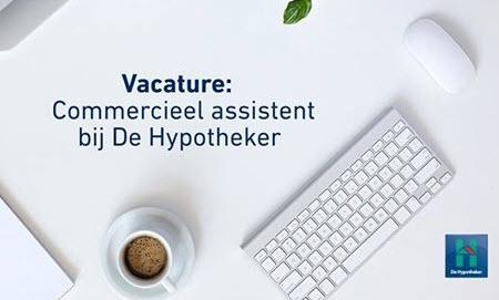 Vacature commercieel assistent bij De Hypotheker Harderwijk