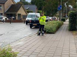 Politie agent staat 1,5 uur te laseren op de Varenlaan in Ermelo