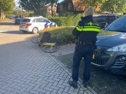 Ongeval met fietser op de Dokter van Dalelaan in Ermelo