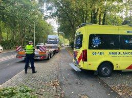 Kopstaartbotsing op de Harderwijkerweg in Ermelo