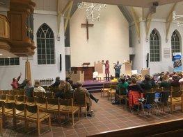 Theatervoorstelling in Week van de Opvoeding